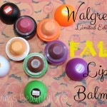 Walgreens Limited Edition Fall & Halloween Lip Balms!