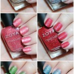 Zoya Pixie Dust Seashells Collection Swatches & Review