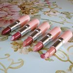 Rimmel Lasting Finish Nude Lipsticks by Kate Moss Collection Swatches & Review